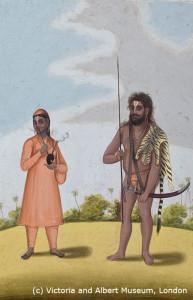 Аскет и его жена