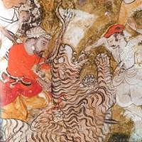 Рис. 9. Добивание раненного тигра