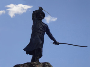 Мурар Баджи, маратхский генерал, погиб, сражаясь с моголами