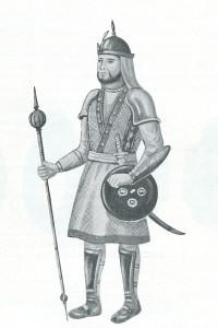 Могольский сипай-наемник, XVII век