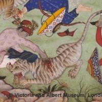 Рис. 14. Техника использования кинжала против хищника. Victoria and Albert Museum, London (c)