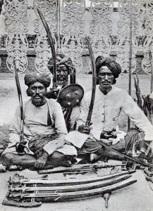 Торговцы оружием. Хайдерабад, 1903 г.