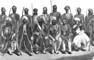 Военный комендант города и его ассистенты
